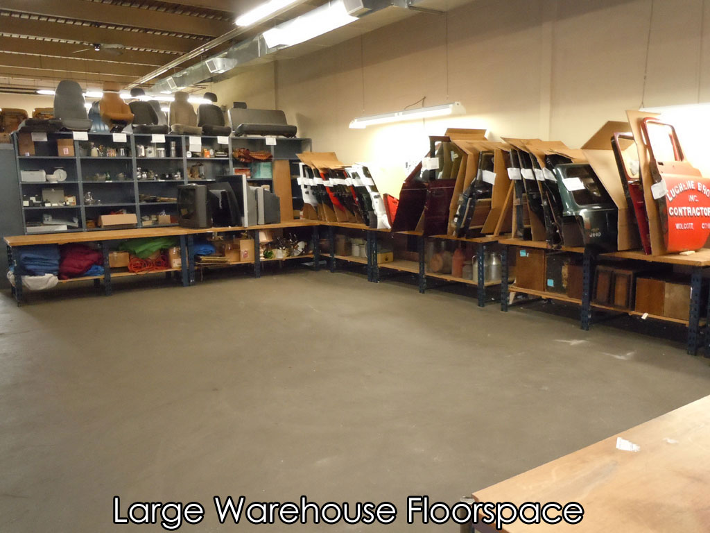 Large Warehouse Floorspace