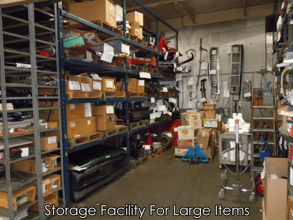 Storage Facility For Large Items